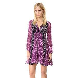 Diane Von Furstenberg Ivetta Silk Babydoll Dress